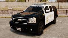 Chevrolet Suburban GTA V Blaine County Sheriff para GTA 4