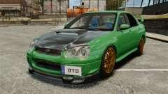 Subaru Impreza 2005 DTD Tuned para GTA 4