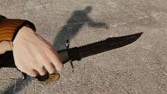 El cuchillo de Alabama Slammer negro
