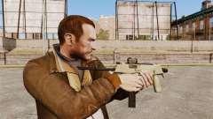 MP9 subfusil ametrallador táctico v4 para GTA 4