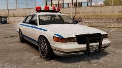 Policía en un unidades de 20 pulgadas