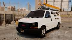 GMC Savana 2500 Rapid Towing Mechanic para GTA 4
