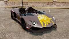 Lamborghini Aventador J Big Lambo para GTA 4