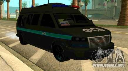 GMC Savana AWD FSB para GTA San Andreas