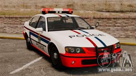 Policía de Luxemburgo para GTA 4