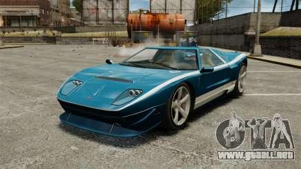Nuevo Bullet GT para GTA 4