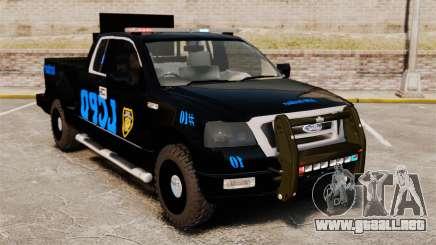 Ford F-150 v3.3 LCPD Auxiliary [ELS & EPM] v3 para GTA 4
