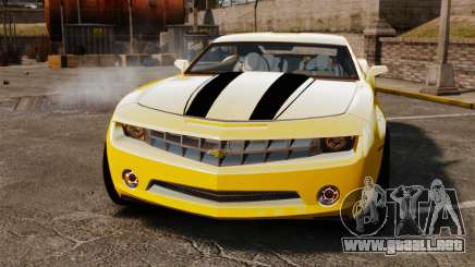 Chevrolet Camaro Bumblebee para GTA 4