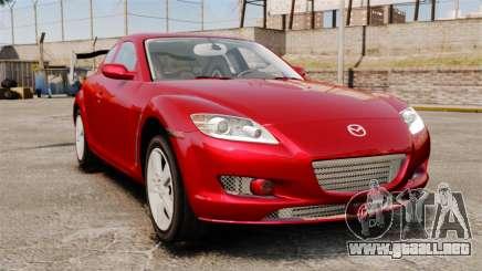Mazda RX-8 Light Tuning para GTA 4