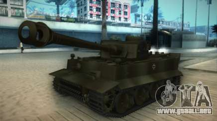 Pzkpfw VI Tiger I para GTA San Andreas