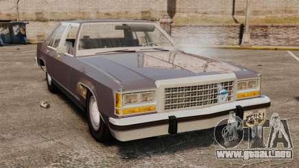 Ford LTD Crown Victoria para GTA 4