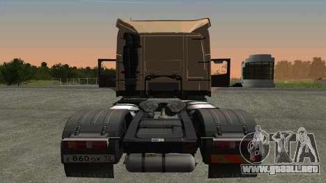 Volvo FM16 para la visión correcta GTA San Andreas