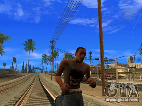 Nuevo Mike CJ para GTA San Andreas sucesivamente de pantalla