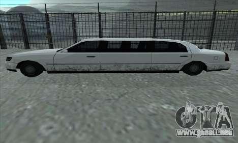 El tramo de GTA 5 para GTA San Andreas left