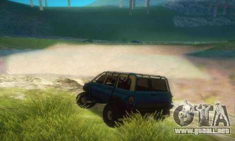 UAZ Patriot para la visión correcta GTA San Andreas