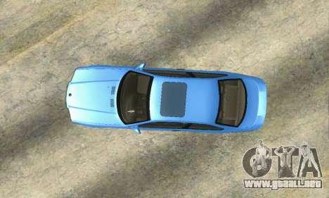 BMW M3 (E36) para GTA San Andreas vista hacia atrás