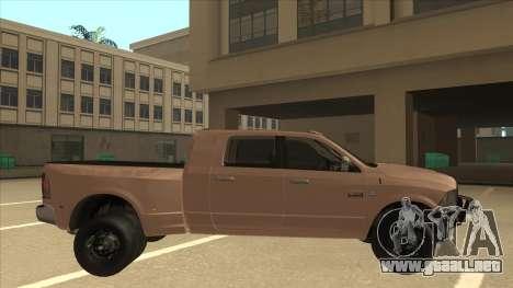 Dodge Ram [Johan] para GTA San Andreas vista posterior izquierda