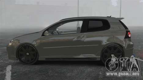 Volkswagen Golf GTi DT-Designs para GTA 4 left