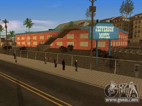 Nuevas texturas en Jefferson para GTA San Andreas novena de pantalla