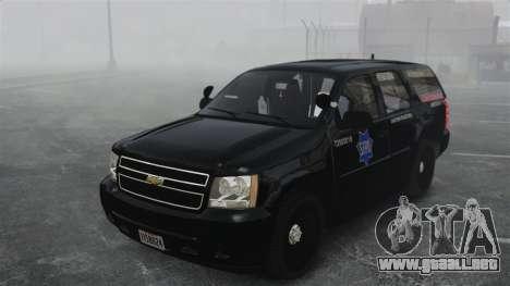 Chevrolet Tahoe 2010 PPV SFPD v1.4 [ELS] para GTA 4