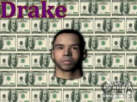 Drake para GTA San Andreas tercera pantalla