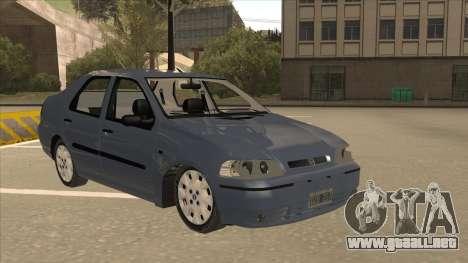 Fiat Siena Ex para GTA San Andreas left