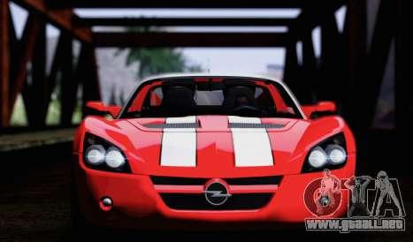 Opel Speedster Turbo 2004 para vista lateral GTA San Andreas