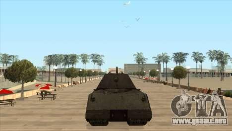 Panzerkampfwagen VIII Maus para GTA San Andreas tercera pantalla