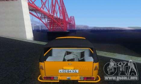 IZH peluca para la visión correcta GTA San Andreas