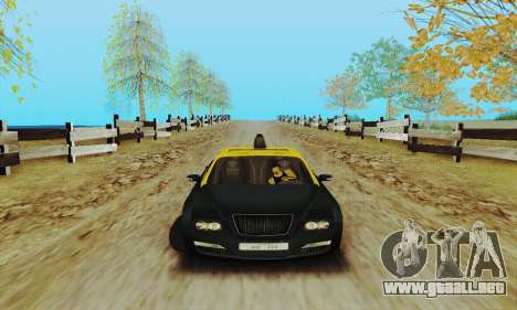 Taxi mercenarios 2 para GTA San Andreas vista posterior izquierda