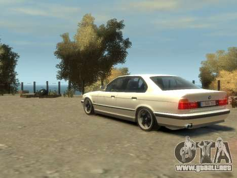 BMW M5 E34 para GTA 4 vista interior
