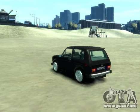 VAZ 2121 Niva para GTA 4 left
