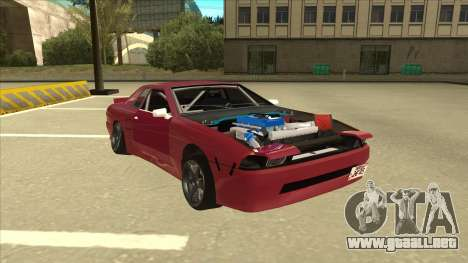 Elegy Drift para GTA San Andreas left