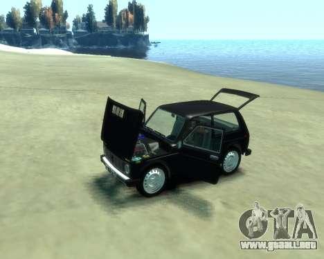 VAZ 2121 Niva para GTA 4 Vista posterior izquierda