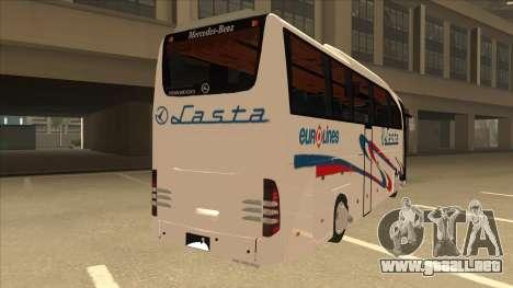 Mercedes-Benz Lasta Bus para la visión correcta GTA San Andreas