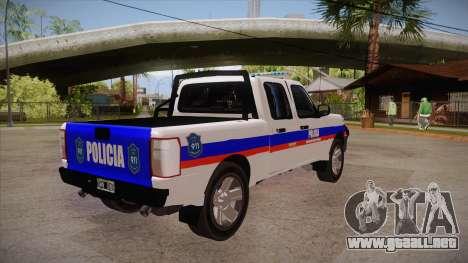 Ford Ranger 2011 Province of Buenos Aires Police para la visión correcta GTA San Andreas
