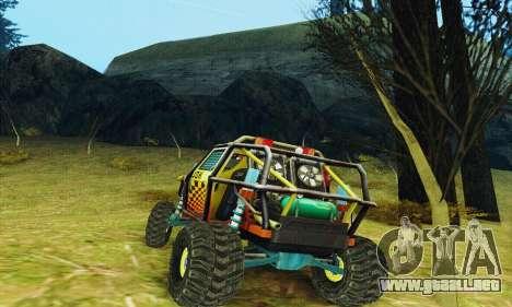 Joker prototipo UAZ para GTA San Andreas vista posterior izquierda