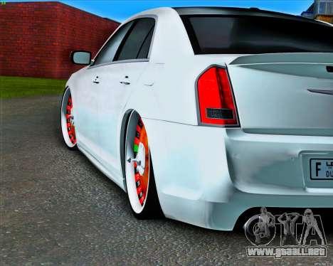 Chrysler 300C SRT-8 MANSORY_CLUB para GTA San Andreas vista hacia atrás
