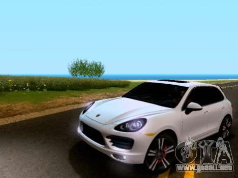 Porsche Cayenne Turbo S 2013 V1.0 para GTA San Andreas left