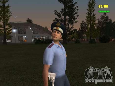 Oficial de DPS para GTA San Andreas segunda pantalla