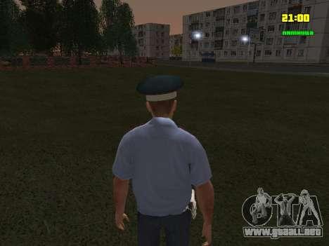 Oficial de DPS para GTA San Andreas tercera pantalla