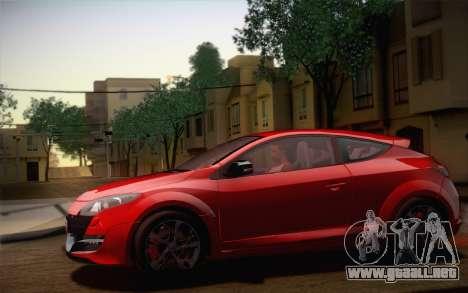 Renault Megane RS Tunable para el motor de GTA San Andreas