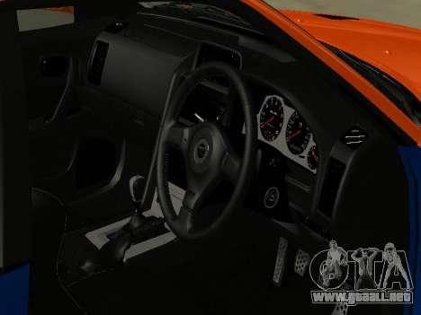 Nissan Skyline R-34 para vista lateral GTA San Andreas
