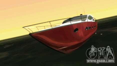 Cartagena Delight Luxury Yacht para GTA Vice City left