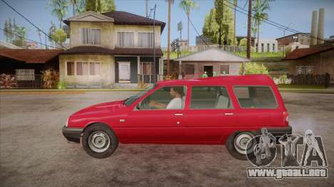 IZH 21261 Fabula BETA para GTA San Andreas left
