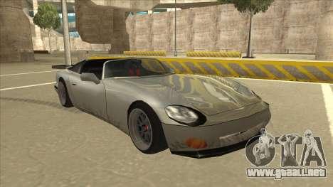Banshee Stance para GTA San Andreas left