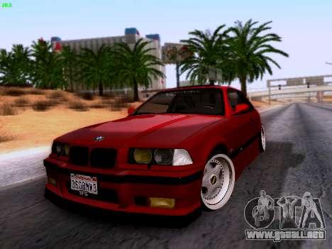 BMW M3 E36 Stance para la visión correcta GTA San Andreas