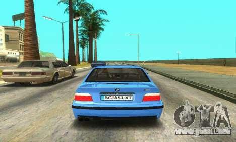 BMW M3 (E36) para la visión correcta GTA San Andreas