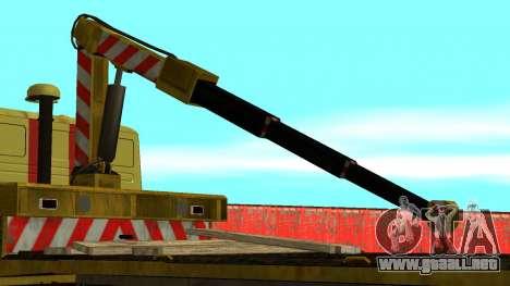 Grúa 43114 KAMAZ para visión interna GTA San Andreas