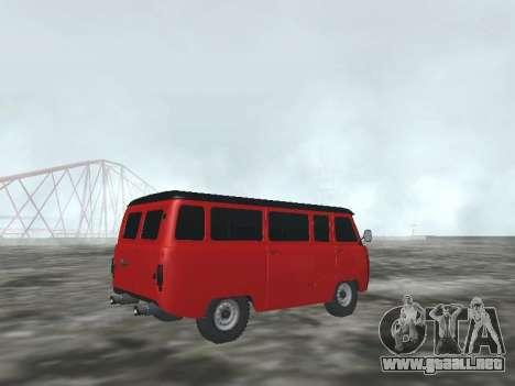 UAZ 22069 para la visión correcta GTA San Andreas